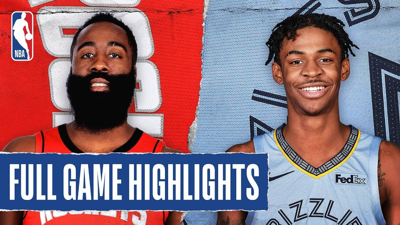 Download ROCKETS at GRIZZLIES | FULL GAME HIGHLIGHTS | January 14, 2020