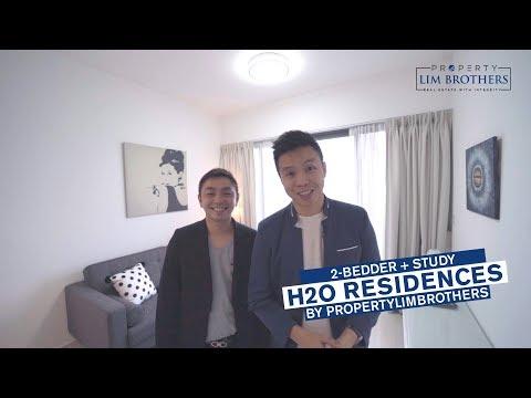 H2O Residences, 2+Study, 883sqft, Singapore Condo Property for Sale - PropertyLimBrothers Propnex