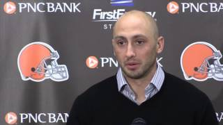 Postgame comments from Brian Hoyer after Browns defeat the Steelers