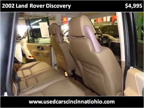 2002 Land Rover Discovery Used Cars Cincinnati OH