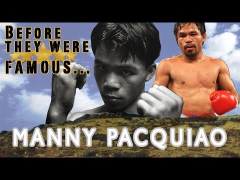 Before They Were Famous - Manny Pacquiao