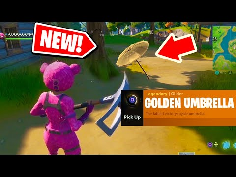 Fortnite Chapter 2 Season 2: How To Get The Golden Umbrella!