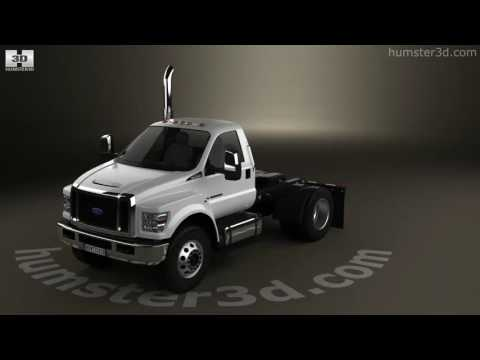 Ford F-650 / F-750 Regular Cab Chassis 2016 3D model by Humster3D.com