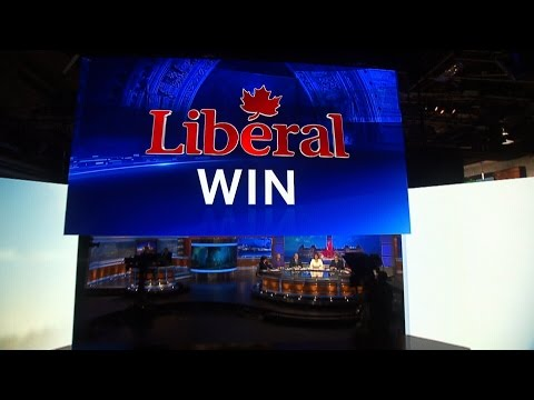 Election 2015: CTV News projects a Liberal win
