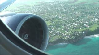 REVISITED: British Airways 777 Barbados takeoff to London Gatwick