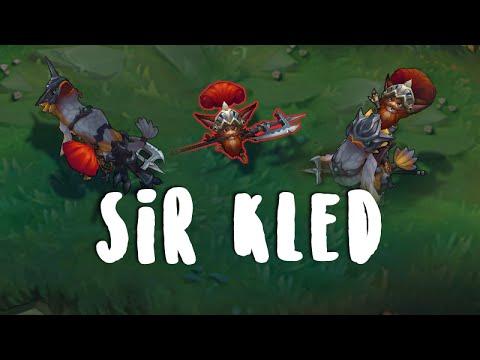 Sir Kled Aperçu Skin League Of Legends Youtube