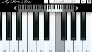 Kiss The Rain - Play From My Piano Phone