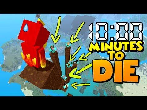 10:00 Minutes to DIE !!! - Minecraft Challenge