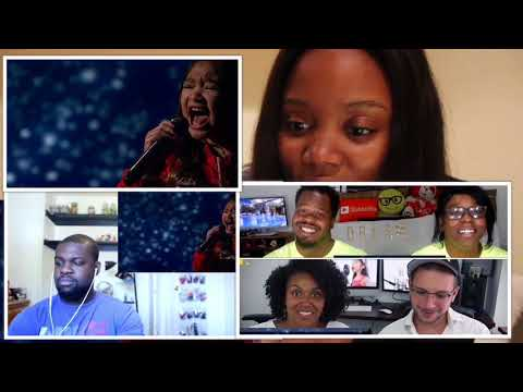 "Angelica Hale sings ""clarity"", youtube reactions"