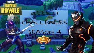 Leaked* Season 4 Week 7 Challenges Guide In Fortnite Battle Royale