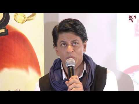 Chennai Express Shahrukh Khan Press Conference