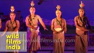Nepali folk dance from Sikkim in India