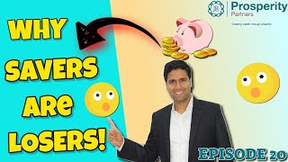 Financial Freedom Friday Episode 20: Why Savers Are Losers In This Economy