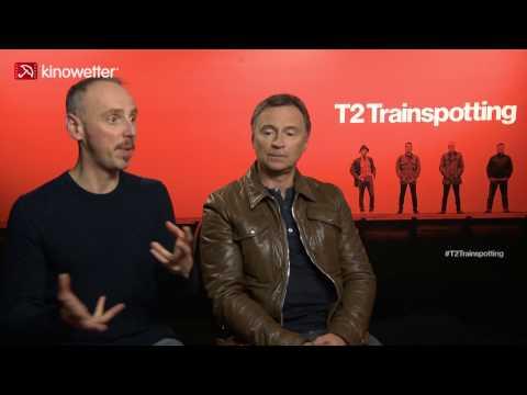 Interview Ewen Bremner & Robert Carlyle T2 TRAINSPOTTING