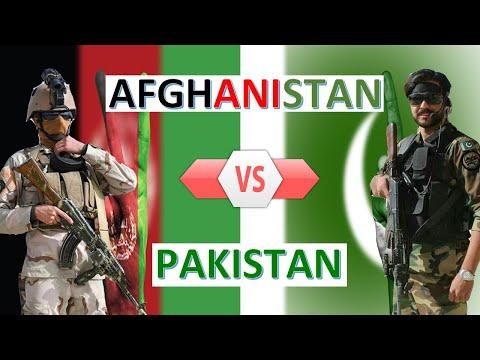 Afghanistan vs Pakistan Military Power and Economic Comparison