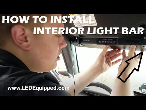How To Install A Interior Visor Light