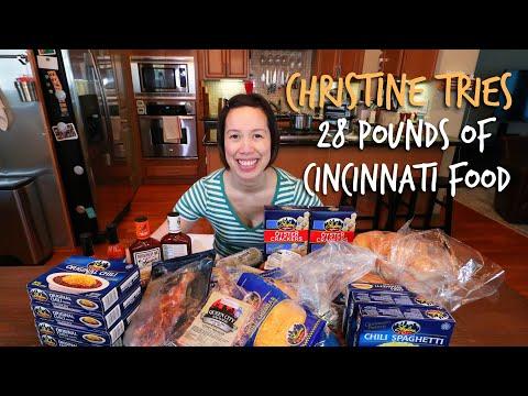 Christine Ha tries 28 POUNDS of food from Cincinnati