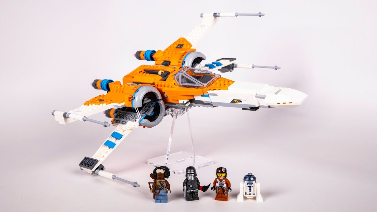 Lego Star Wars Poe Dameron S X Wing Fighter Review 75273 Youtube