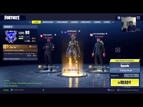 [Ps4] Fortnite Battle Royale | Playing with Subs - Going for Wins!!
