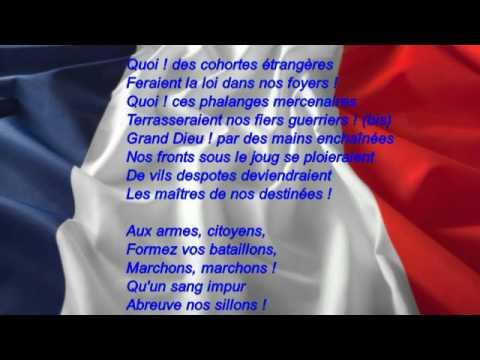 La Marseillaise : version dite