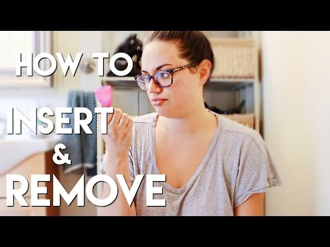 How to Insert and Remove Your Menstrual Cup