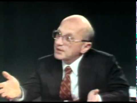 """The Open Mind"" talk show with Milton Friedman (1975)"