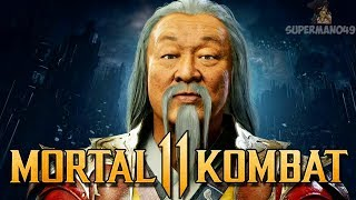 "Mortal Kombat 11: SHANG TSUNG REVEALED! - Mortal Kombat 11 ""Shang Tsung"" First Look"