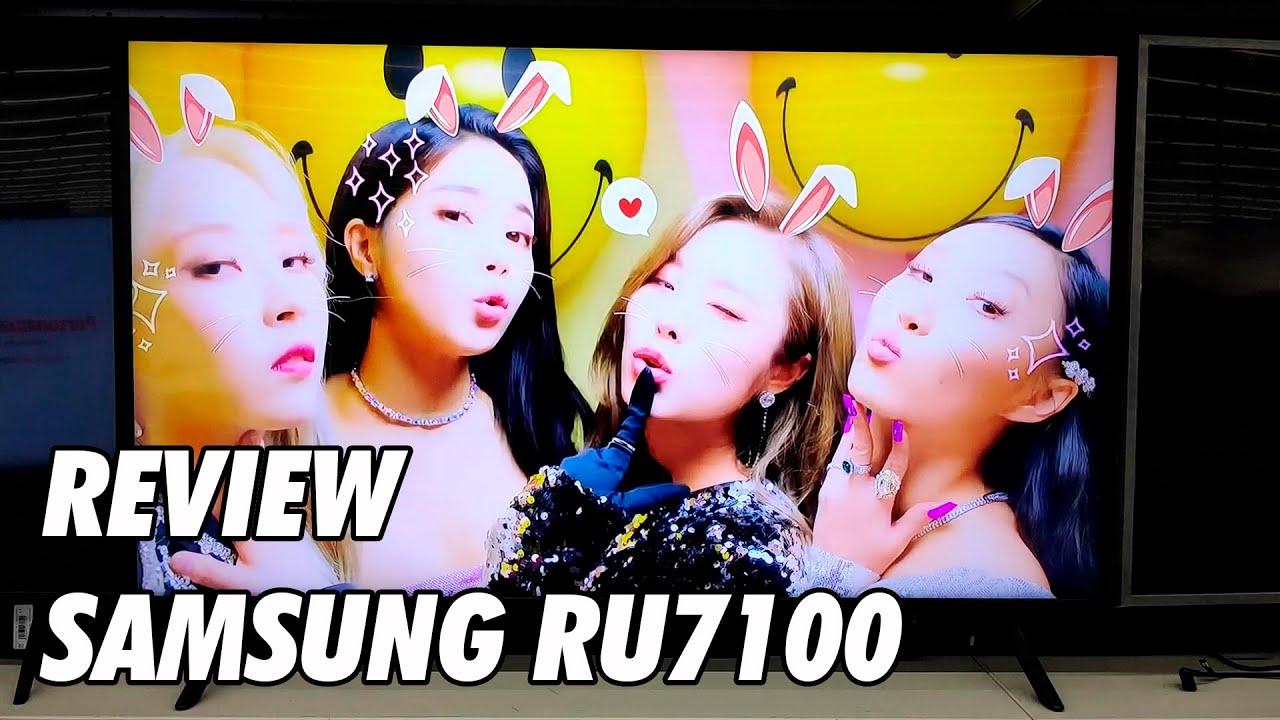 Review Samsung RU7105 - RU7100 Nueva Television 4K UHD HDR Smart TV 2019 -  YouTube