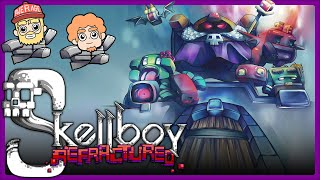 We are playing Skellboy Refractured, a cute co-op action-rpg where we must save the Cubold Kingdom!