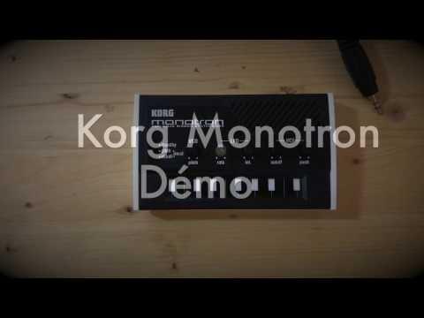 Korg Monotron Démonstration