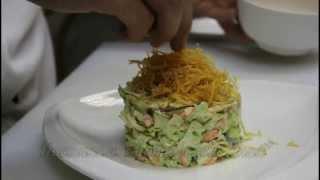 "Салат ""Инча"" (ресторан узбекской кухни Хива"")"