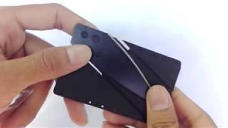 มีดพับขนาดจิ๋ว ขนาดเท่าบัตรเครดิต