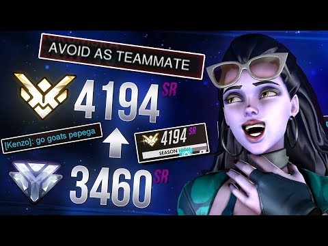 From Diamond to Grandmaster using 6 Guidelines (Ashe and Widowmaker) - Overwatch tips & tricks thumbnail
