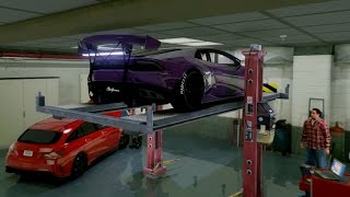 GTA V | TUNERS GARAGE IN GTA 5