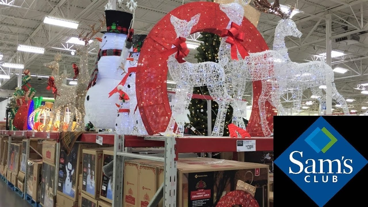 SAM'S CLUB CHRISTMAS TREES DECORATIONS HOME DECOR