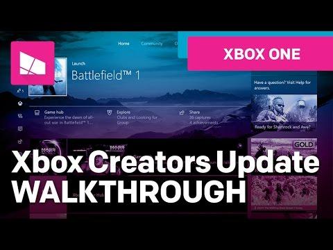 Xbox One Creators Update
