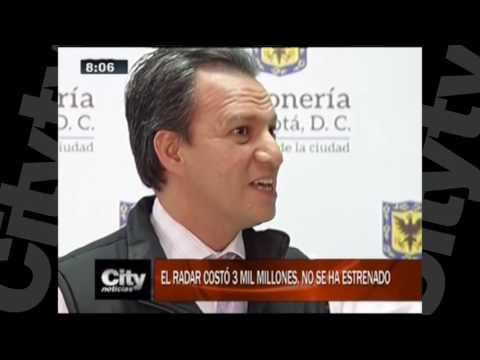 Bogotá tiene moderno radar, no hay quién lo opere    Citytv   23 de noviembre