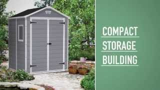 Keter - Manor Shed 6x5