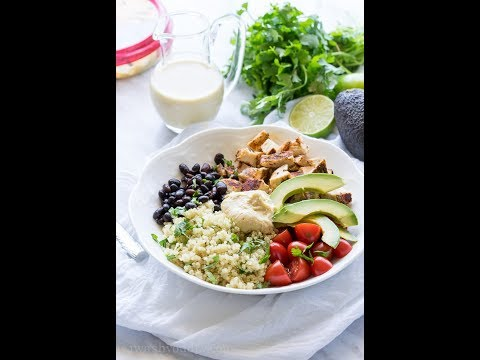 Cilantro Lime Quinoa Bowls