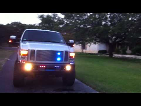 Undercover Emergency Response F350 Diesel Police Concep