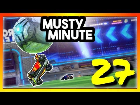 Musty Minute #27 | Rocket League thumbnail