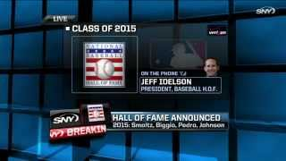 MLB Hall of Fame President Jeff Idelson talks election