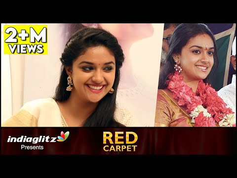 Mine will be a Love Marriage - Keerthi Suresh Interview | Remo Red Carpet | About Vijay, Bhairava
