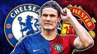Manchester United & Chelsea To Battle For Edinson Cavani | Transfer Talk