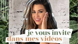 Je Vous Invite Dans Mes Vidéos !