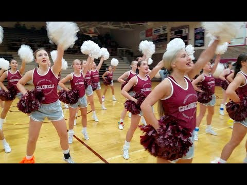Henderson County High School Pep Session with WKDQ and News 25