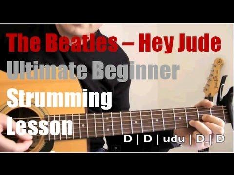 Hey Jude The Beatles Guitar Strumming Patterns Part 2