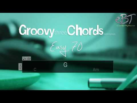 Groovy Three Chords Backing Track in A Minor | 120 bpm