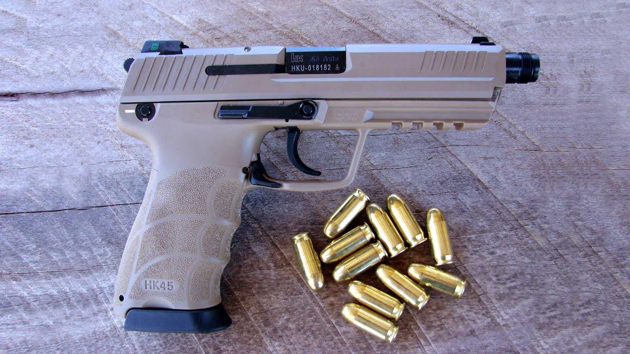 Shooting Lipsey's Exclusive Heckler & Koch HK45 Tactical with FDE Cerakote  Slide - Gunblast com