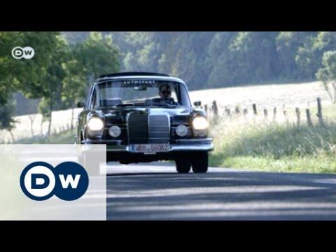 sporty vintage car mercedes 220 seb drive it
